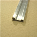"ALU TRM RUB RAIL S-L 1.25"" 8FT SECTION"