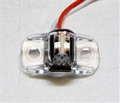 "LED CLEARANCE LIGHT 3/4"" DUAL AMBER/RED"