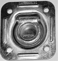 D-Ring - recessed, square