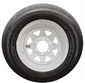 Goodyear Endurance ST225/75R15 E 2830# 80PSI, White Spoke