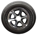 Goodyear Endurance ST225/75R15 E 2830# 80PSI, Black A162