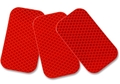 "Red Reflector, 2"" x 3.5"" Sticker (Sold Individually)"