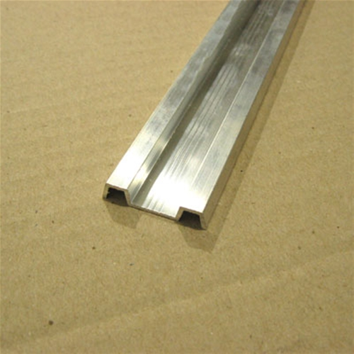 ALU RUB RAIL TRM FLT 1.25 8FT SECTION